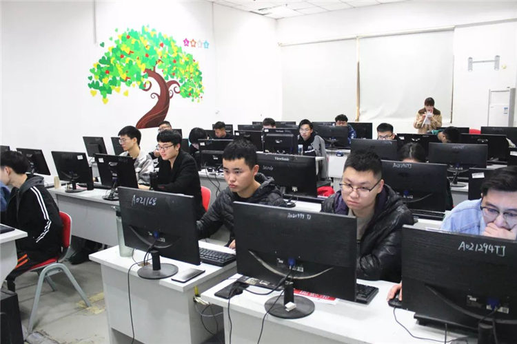 html5培训班内景